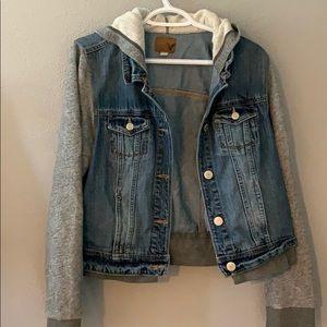 Jean jacket type!